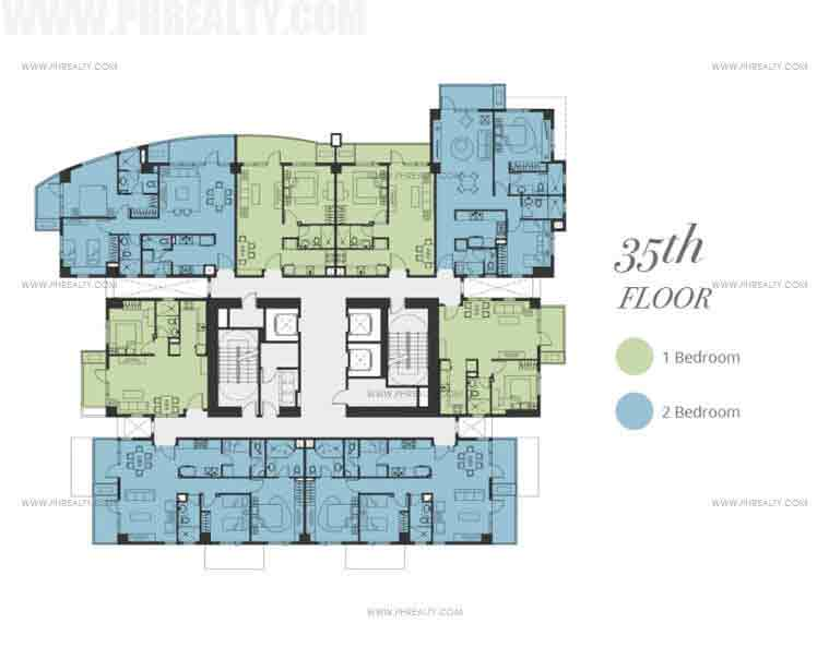 Bristol Parkway Place - Floor Plan 35th Floor