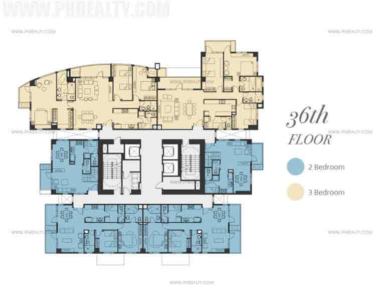 Bristol Parkway Place - Floor Plan 36th Floor