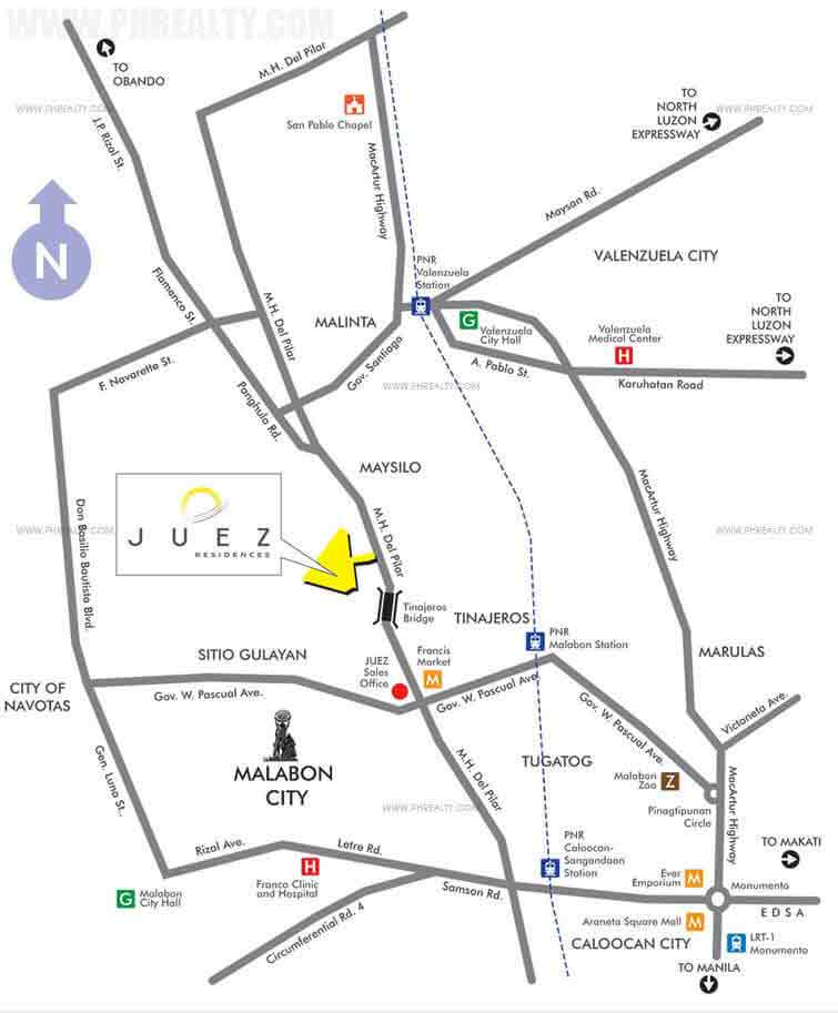 Juez Residences - Location & Vicinity