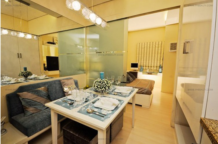 Juez Residences - Living and Dining Area