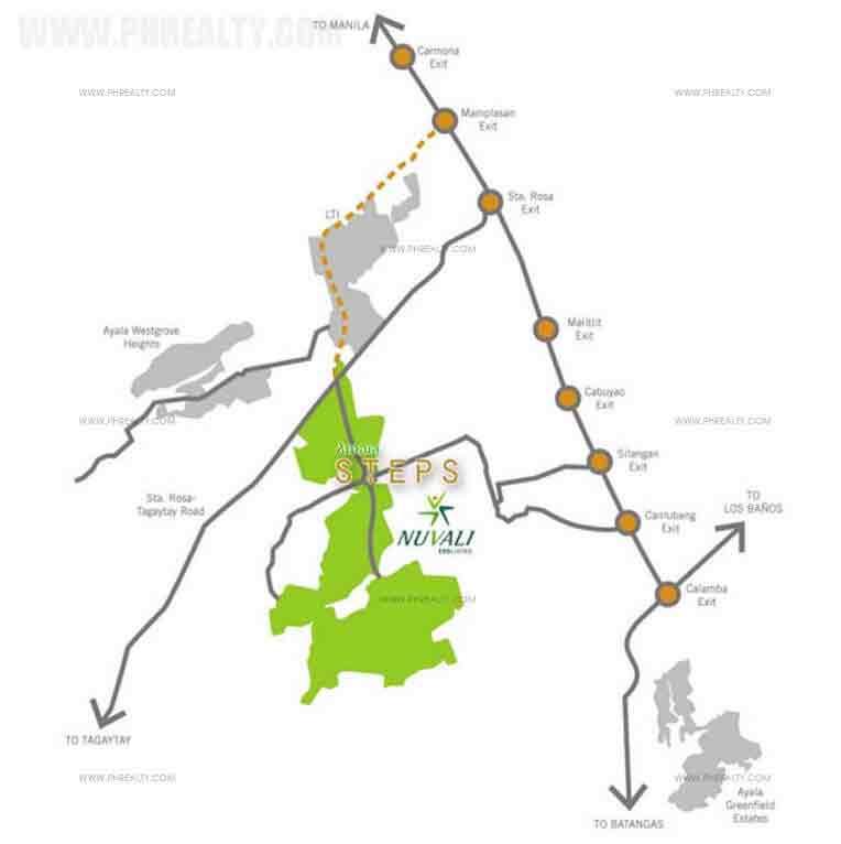 Amaia Steps Nuvali - Location & Vicinity