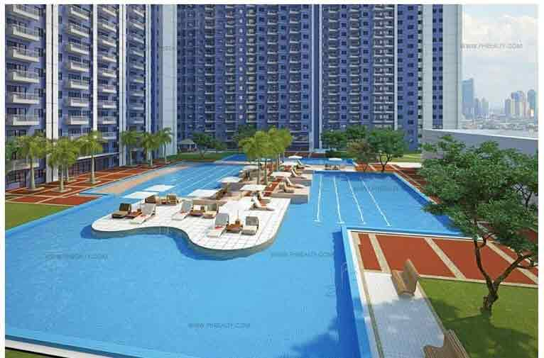 Jazz Residences - Pool Area