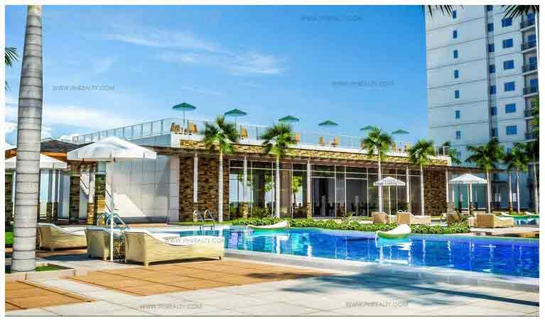 Jazz Residences - Pool Deck