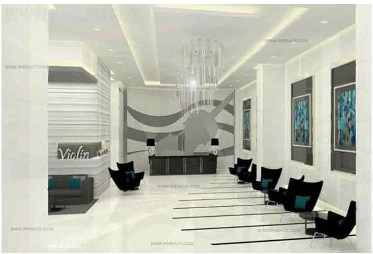 Jazz Residences - Violin Lobby