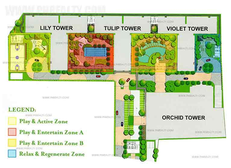 Grace Residences - Site Development Plan