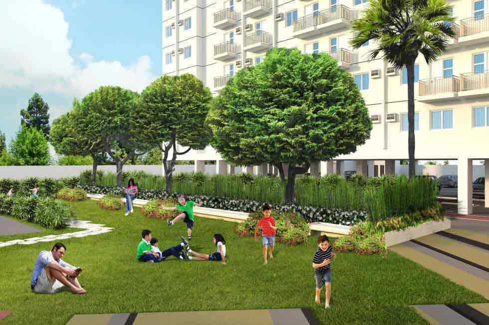 Amaia Steps Capitol Central - Landscaped Garden