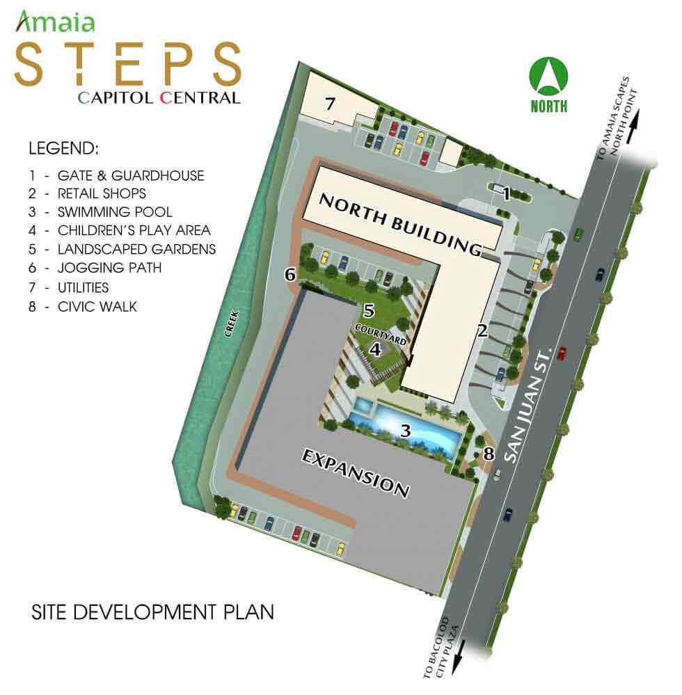 Amaia Steps Capitol Central - Site Development Plan