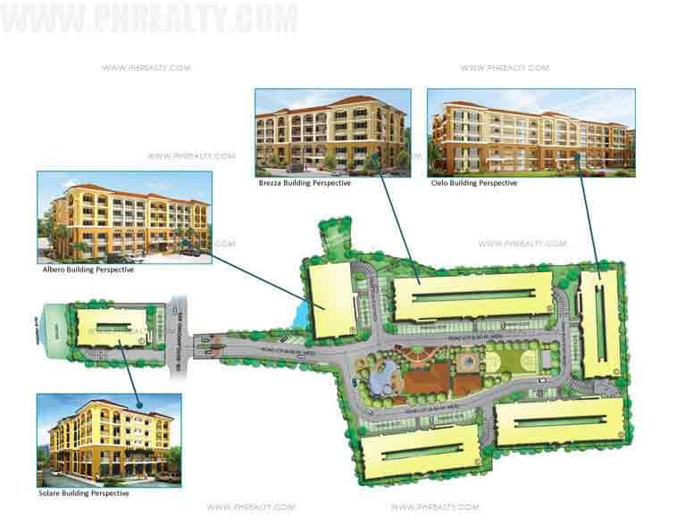 Camella Cerritos - Building Plans