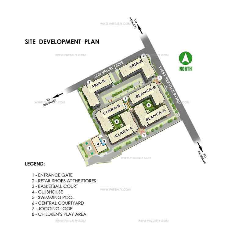 Amaia Steps Bicutan - Site Development Plan