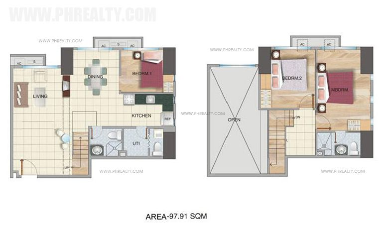 McKinley Park Residences - Three Bedroom