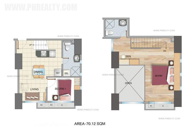 McKinley Park Residences - Two Bedroom