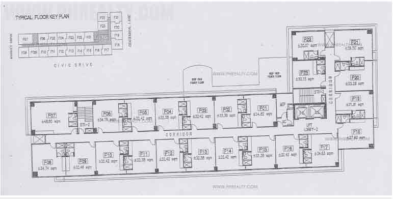 Civic Prime - Floor Plan 5th to 10th