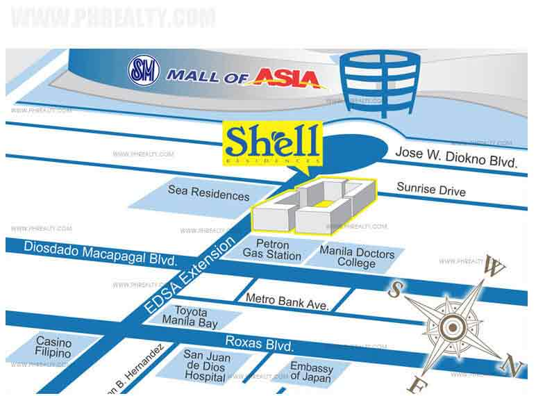 Shell Residences - Location & Vicinity