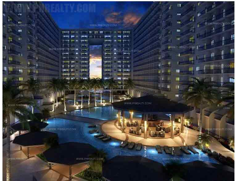Shell Residences - Nightshot