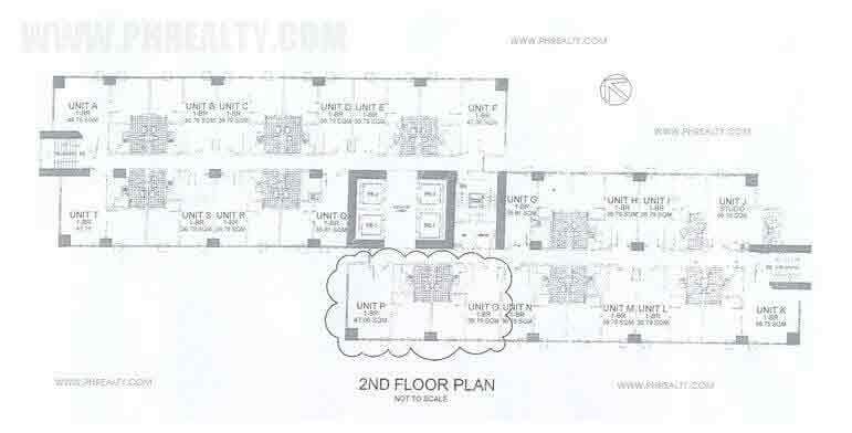 Fifth Avenue Place - 2nd Floor Plan