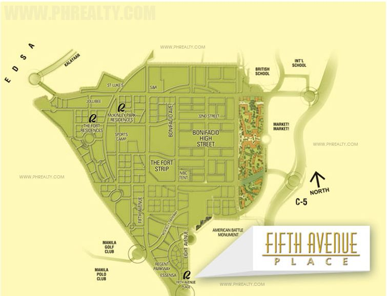 Fifth Avenue Place - Location & Vicinity