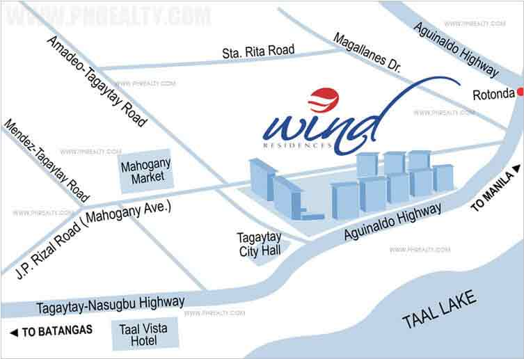 Wind Residences  - Location & Vicinity