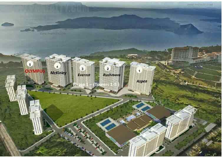 The Symphony Towers  - Site Development Plan