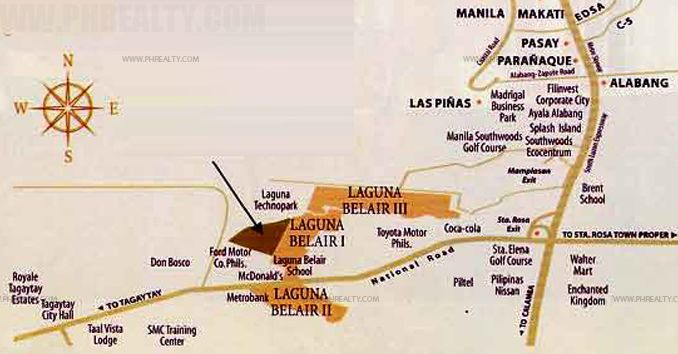 Laguna Bel Air - Location & Vicinity