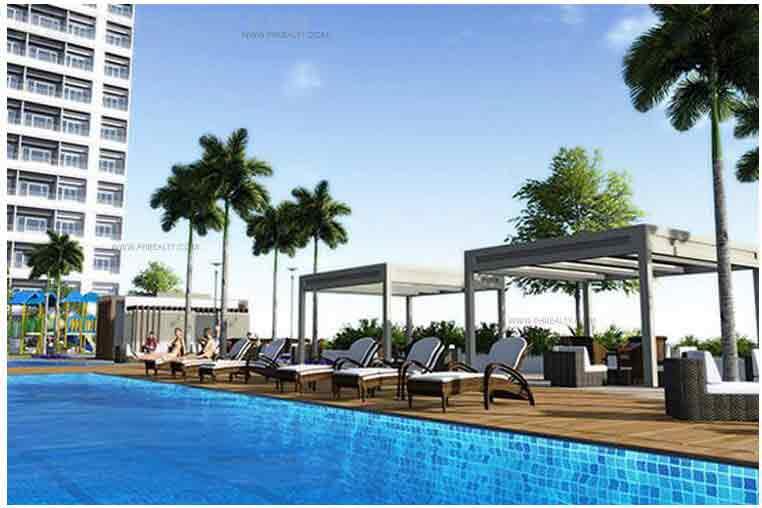 Breeze Residences - Pool Deck Area
