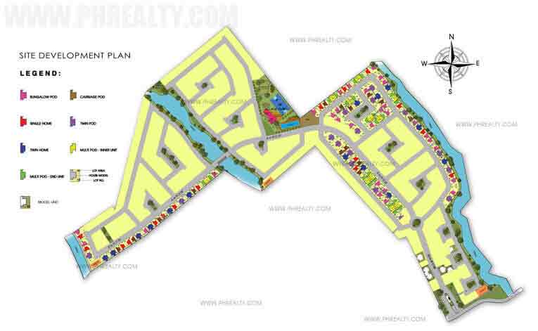 Amaia Scapes Lucena - Site Development Plan