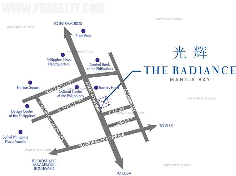 Radiance Manila Bay - Location & Vicinity