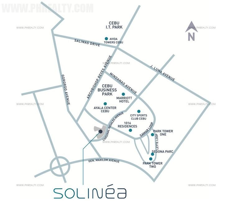 Solinea - Location and Vicinity
