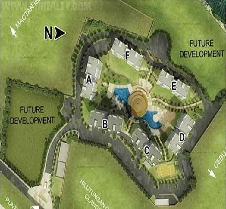 Amisa Private Residences - Amenities Map