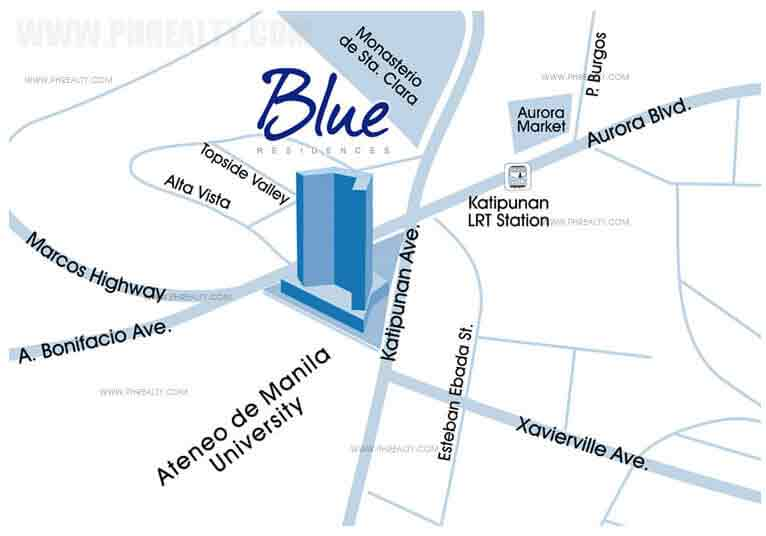 Blue Residences - Location & Vicinity