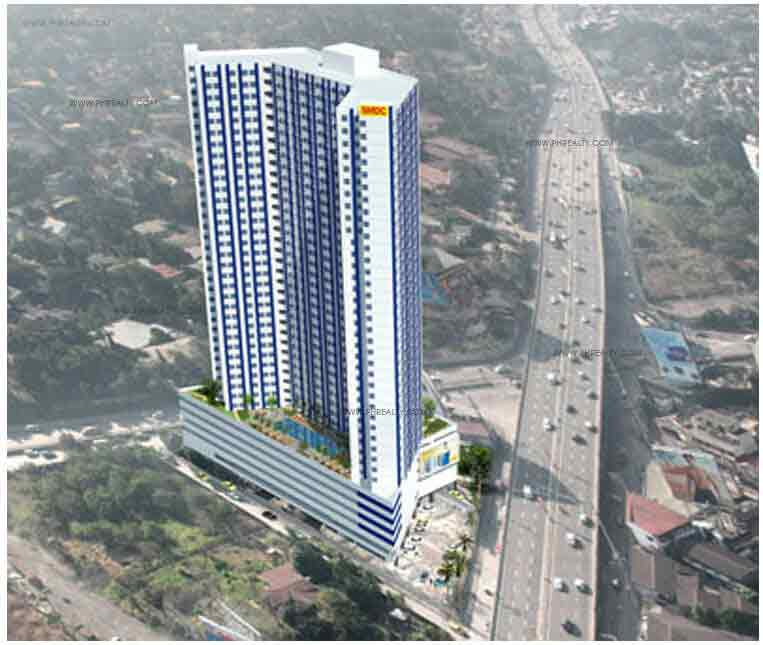 Blue Residences - Perspective View Of The Building