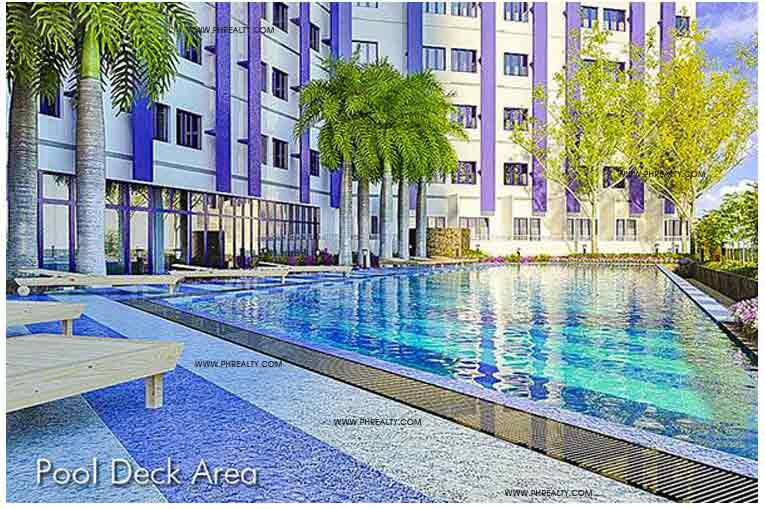 Blue Residences - Pool Deck Area