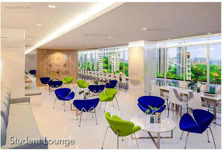 Blue Residences - Student Lounge