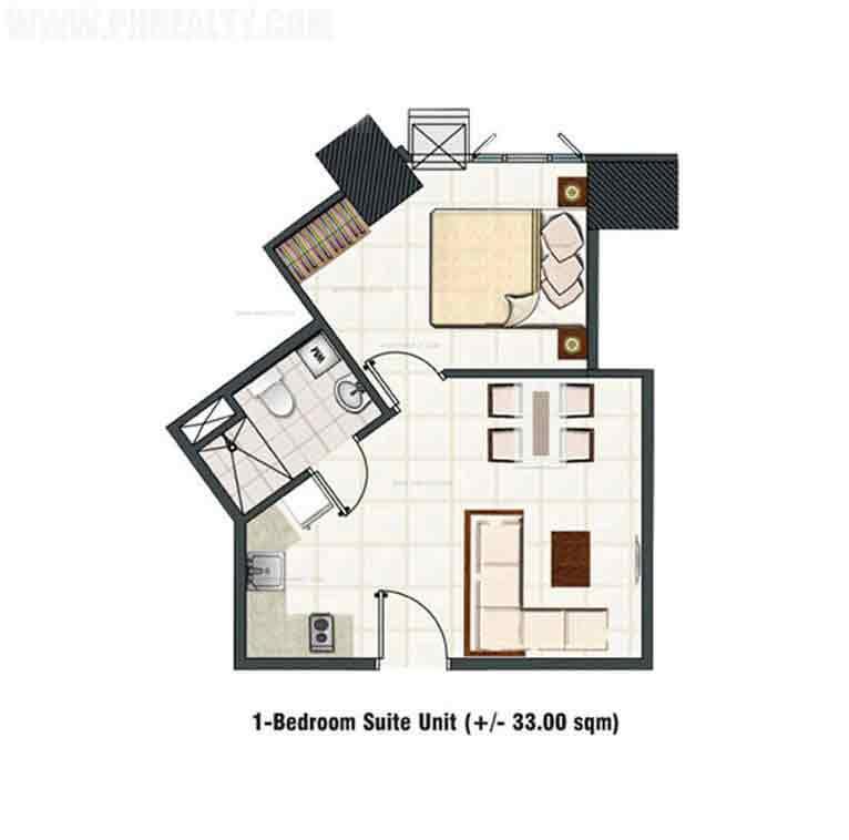 Blue Residences - 1 Bedroom Deluxe Garden