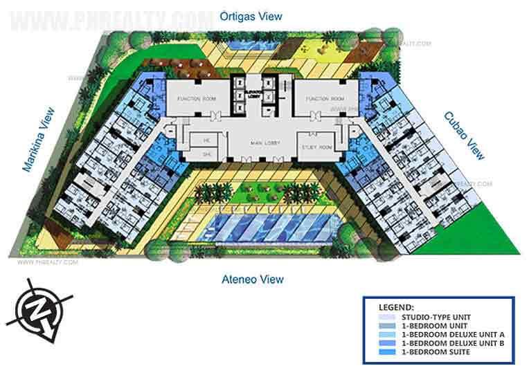 Blue Residences - 7th Floor Plan