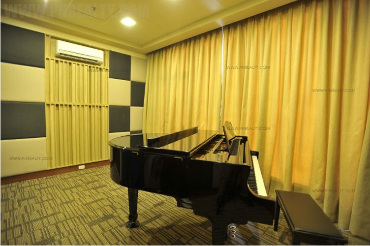 Sonata Private Residences - Piano Room