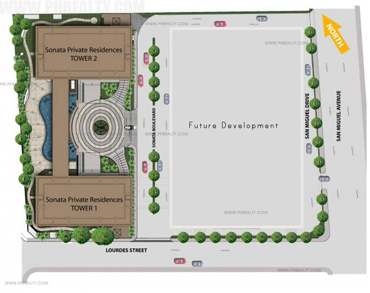 Sonata Private Residences - Site Development Plan
