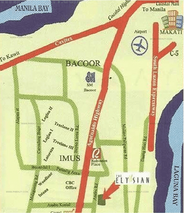 The Elysian - Location & Vicinity