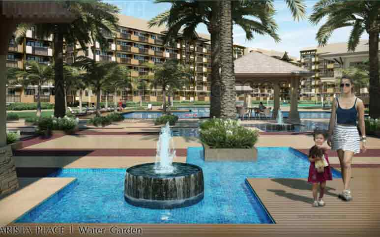 Arista Place - Water Garden