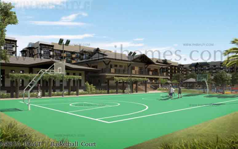 Arista Place - Basketball Court