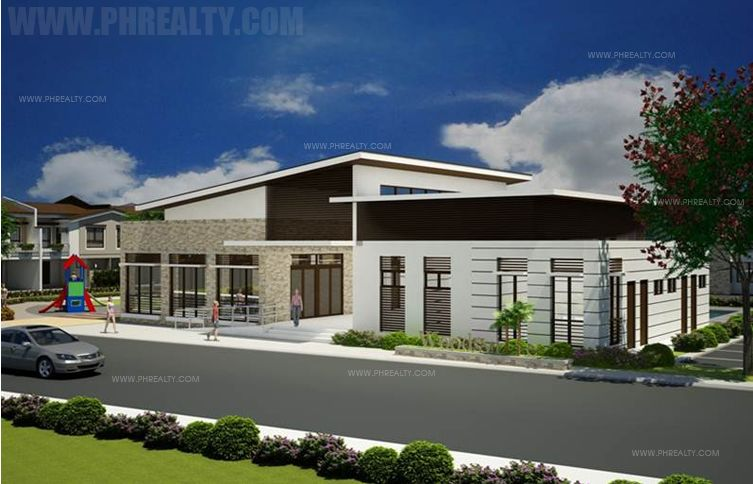 Woodsville Residences  - Clubhouse with Multi-purpose rooms, fitness gym, & Pool Side Veranda
