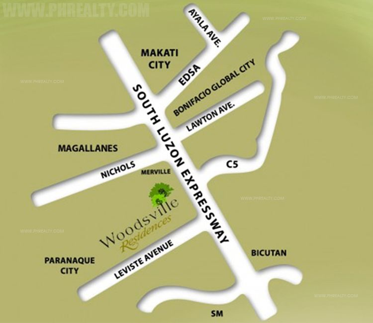 Woodsville Residences  - Location & Vicinity
