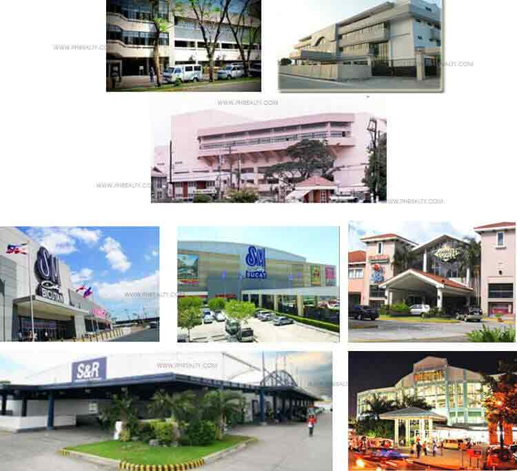 Woodsville Residences  - Nearby Establishments