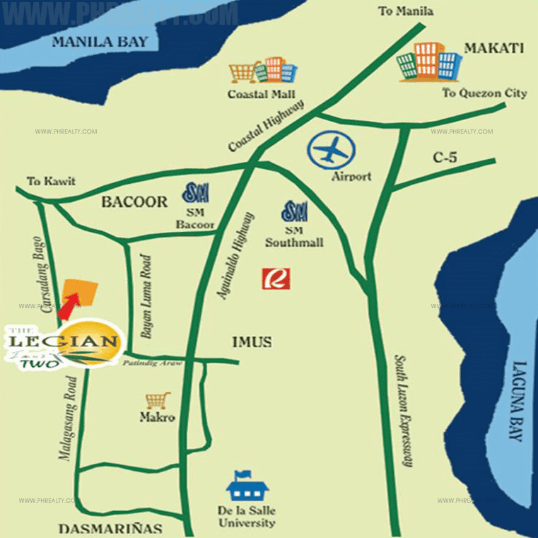 The Legian - Location & Vicinity