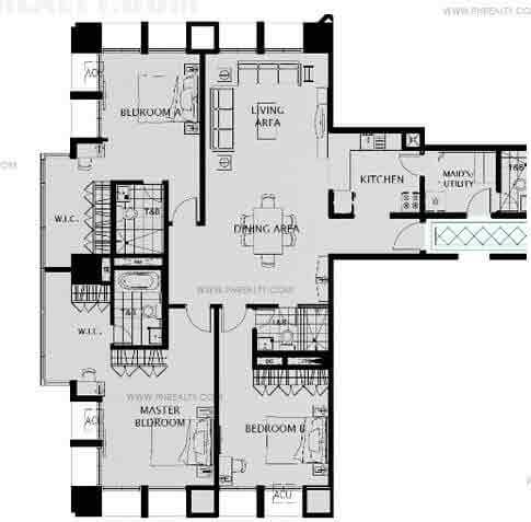 Capitol Plaza - Unit 3 Bedroom