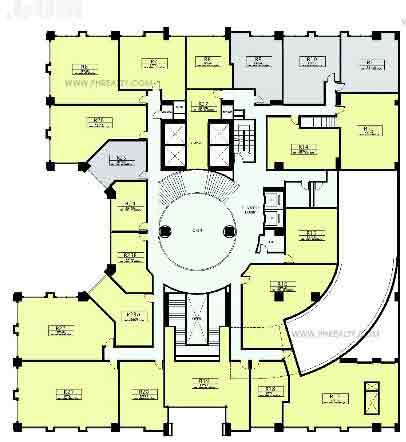 Capitol Plaza - 2nd Floor Plan