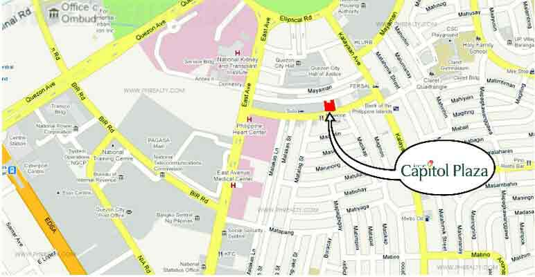 Capitol Plaza - Location & Vicinity