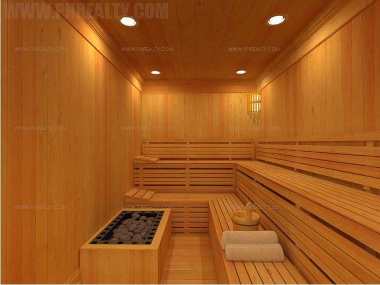 The Sapphire Bloc - Sauna