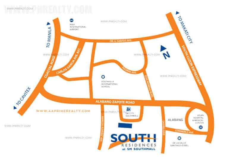 South Residences - Location & Vicinity