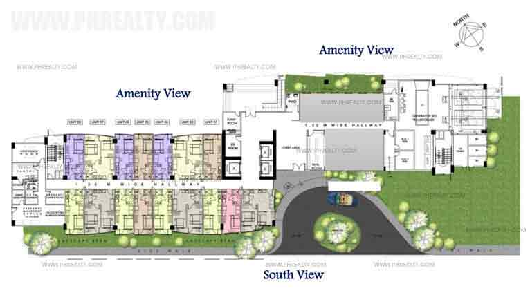 South Residences - Tower 1 Ground Floor Plan