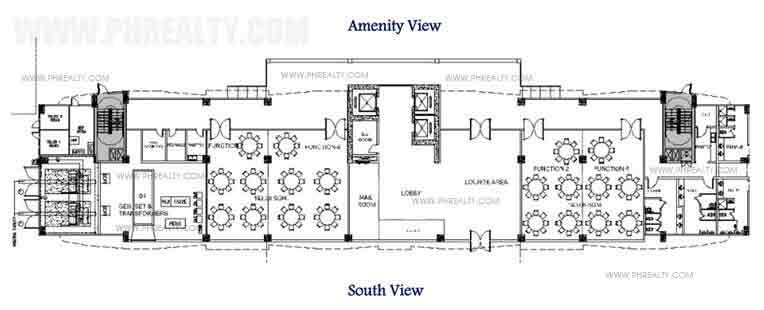 South Residences - Tower 2 Ground Floor Plan